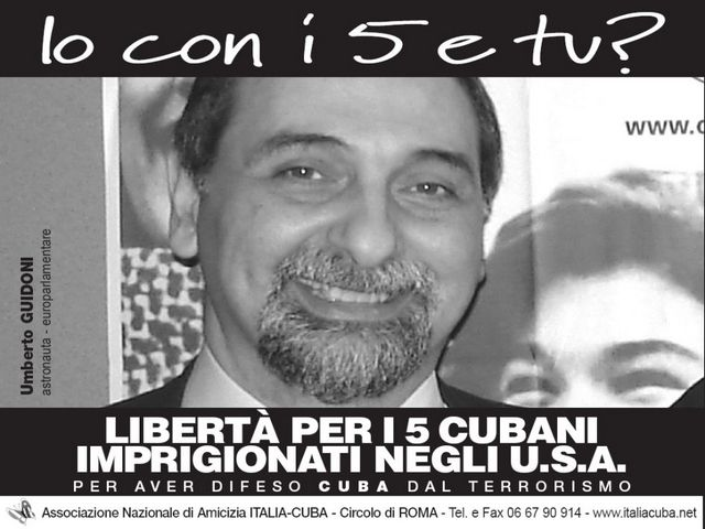 Umberto Guidoni per i Cinque