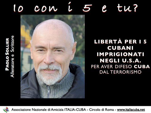 Paolo Sollier per i Cinque