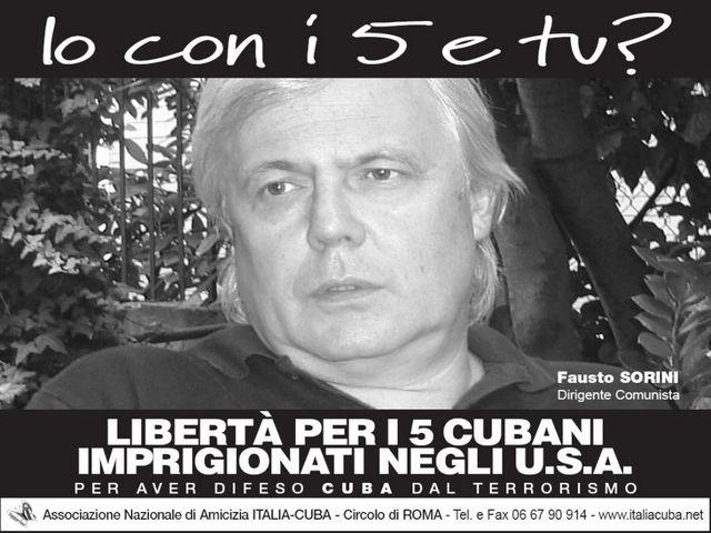 Fausto Sorini per i Cinque